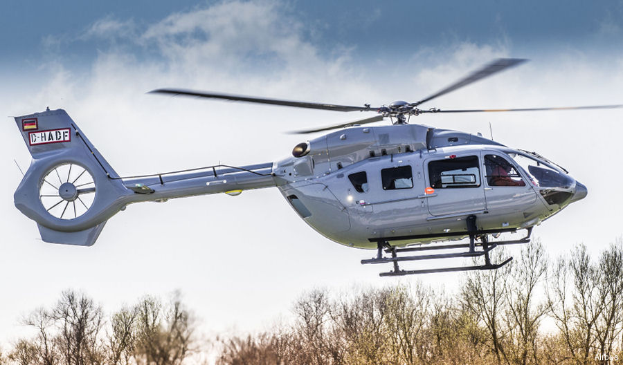 The optional increase of the Alternate Gross Weight (AGW) allows H145 to take off with up to 100 kg more useful load linked to a temporary restricted flight envelope after approximately 20 minutes