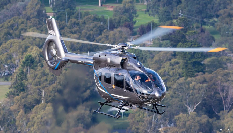 Airbus' H145 / EC145T2, the latest member of its 4-ton-class twin-engine rotorcraft product range, received certification by Transport Canada Civil Aviation (TCCA)