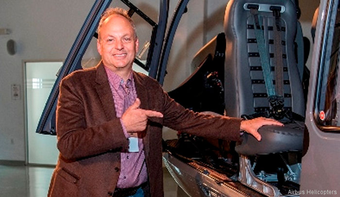 Entrepreneur David MacNeil takes delivery of new, customized Airbus H145 helicopter