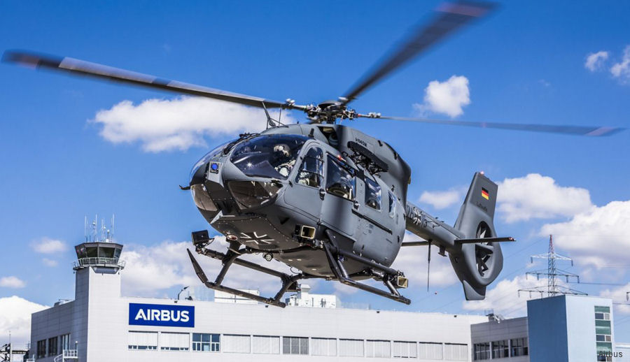 Airbus delivered the 15th and final H145M/EC645T2 LUH SOF to be operated by the Luftwaffe on behalf Bundeswehr Special Forces Command (Kommando Spezialkräfte). First delivered on December 2015