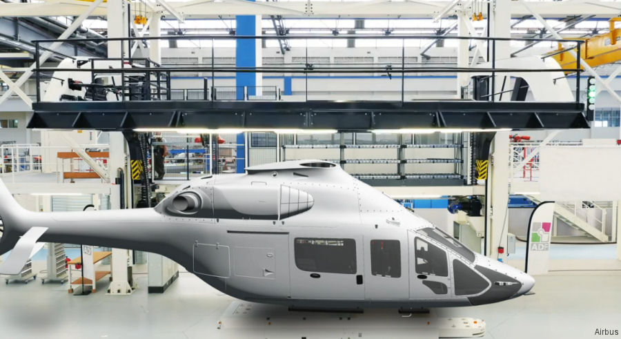 Airbus Helicopters' industrial transformation through one of its newest helicopter, the H160