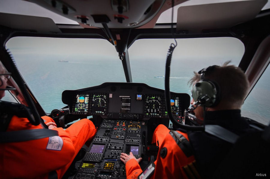 Airbus received EASA certification for the Rig'N Fly (Rig Integrated GPS approaches with eNhanced Flyability and safetY) for the H175 operating in oil and gas offshore platforms