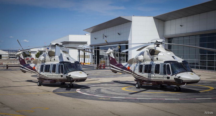 Royal Thai Police received two VVIP H175 making it the first in Asia Pacific to operate the new helicopter