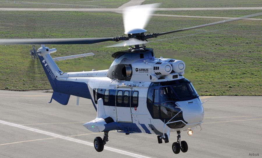 Tokyo Metropolitan Police Department signed for one H215 / AS332L1e to delivered in 2020