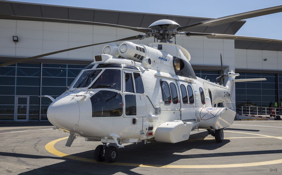 Germany' GHS received a brand-new mission ready H225 / EC225LP
