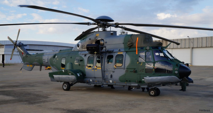 Brazilian Air Force new H225M Caracal