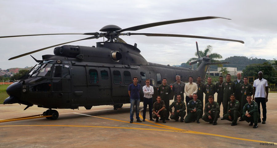 Brazilian Army new H225M Caracal