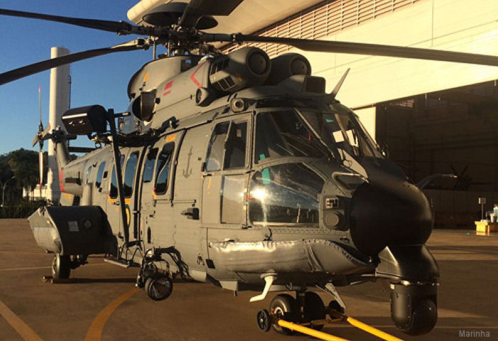 Brazilian Navy Received First H225M in CSAR Configuration