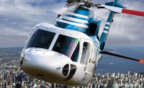 Sikorsky recognized Canadian company Helijet International for 30 years of safe scheduled airline and charter operations with S-76 helicopters