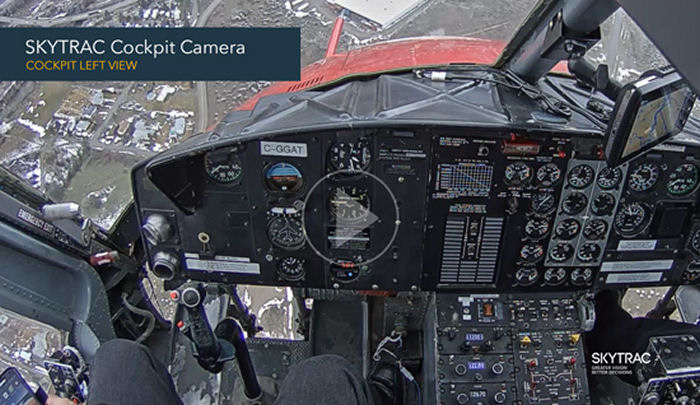 Canadian company SkyTrac augments its existing Flight Data Monitoring services with new cockpit camera options.