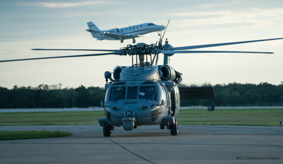 Navy Squadrons Rescue 227 on First Day in Houston