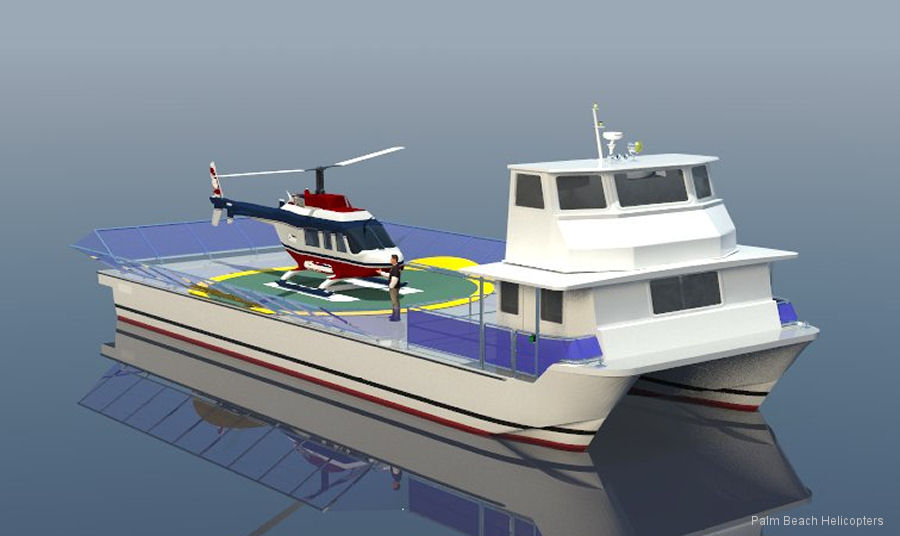 Heli Harbor is a unique Water Operations Based Helipad that combines a helicopter flight and a boating experience for those living near or have water access