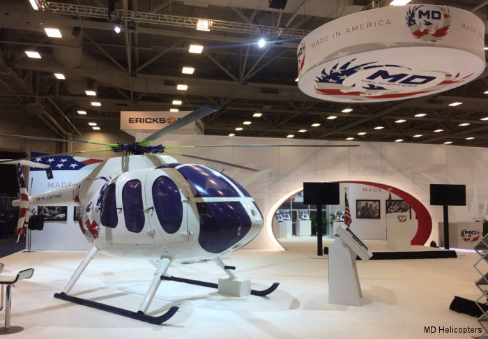 MDHI display features newly designed MD 6XX Concept aircraft, MD 902 with all-new glass cockpit, and a broad range of enhancements to the company's cutting-edge customer support resource, MyMD.aero