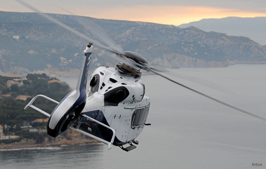 Airbus to display H125, H135, H145 and H160 at the Helitech International air show 2017, ExCeL London, October 3-5