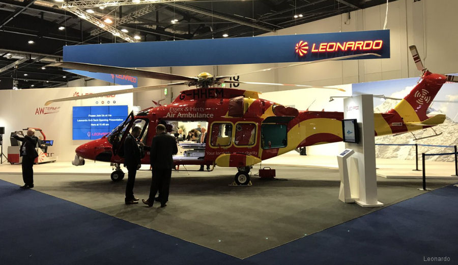 Leonardo at Helitech 2017