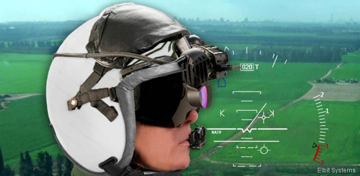 Elbit $50M through 2021 contract for Helmet Display and Tracker System (HDTS) with the Continuously Computed Impact Point (CCIP) algorithm for US Navy MH-60S