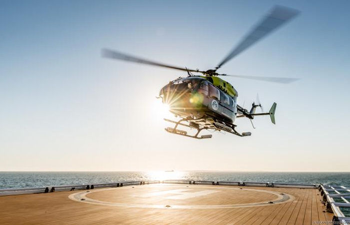 Aerios Global Aviation (AGA) from Cape Town is first South African company to train for their new EC145 at the Metro Aviation' Helicopter Flight Training Center (HFTC) in Louisiana