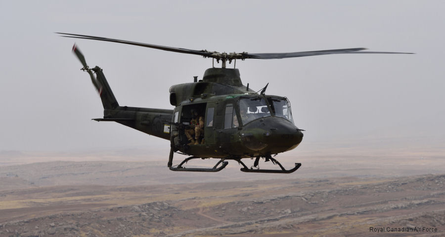 Royal Canadian Air Force's 408 Tactical Helicopter Squadron CH-146 Griffons deployed to northern Iraq as part of Operation Impact, the Canadian Armed Forces' commitment to the fight against ISIS