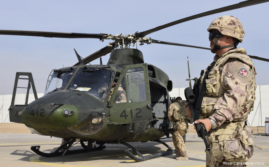408 Tactical Helicopter Squadron deploys in support of Operation Impact