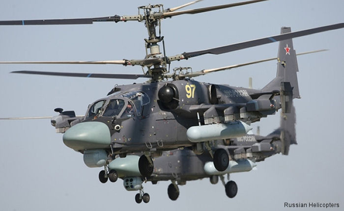 Russian Helicopters confirms that the first of an eventual 46 Ka-52 Alligators attack helicopters will be handed over to Egypt this year