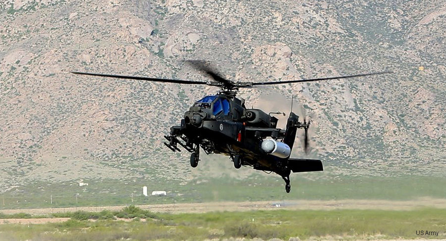 Raytheon and US Special Operations Command completed a successful flight test of a high energy laser system onboard an AH-64 Apache helicopter at White Sands Missile Range, New Mexico