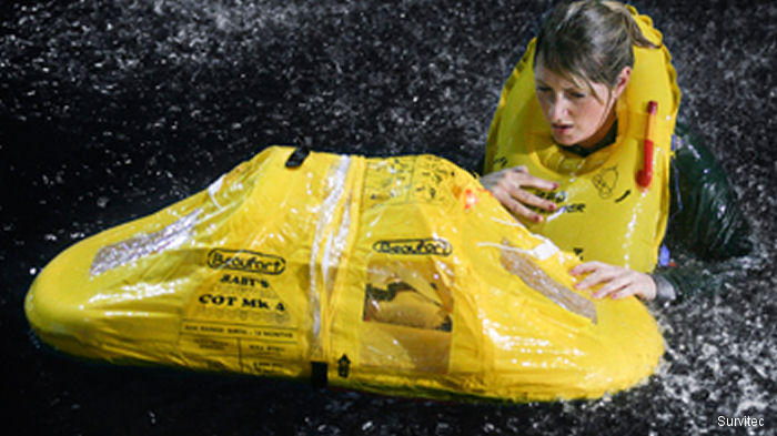 DART has teamed up with Survitec, a world leader in critical safety and survival solutions, for the repair and overhaul of its life rafts
