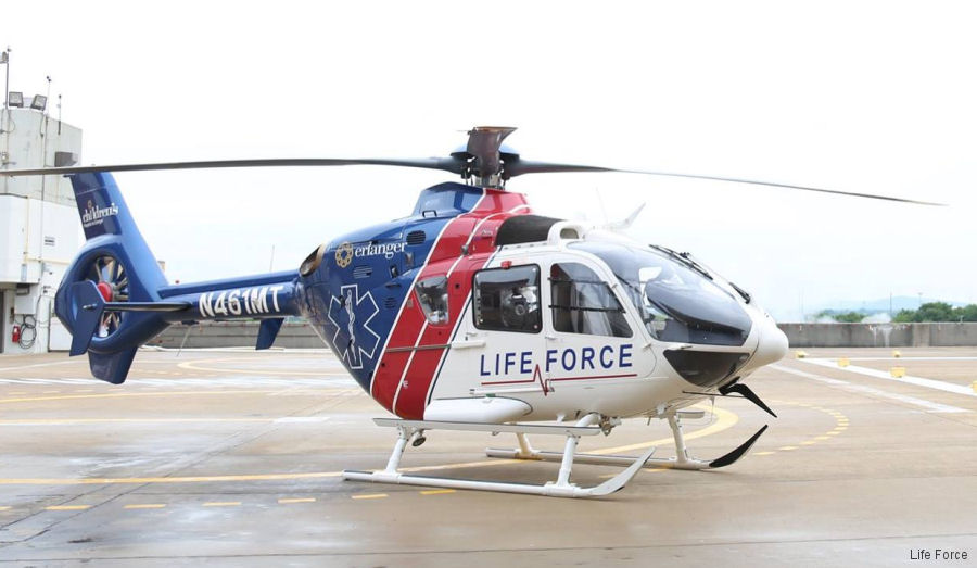 Erlanger Health helicopter service, Life Force provided by Med-Trans Corp, adding its sixth aircraft from August based at Western Carolina Regional Airport serving Murphy Medical Center