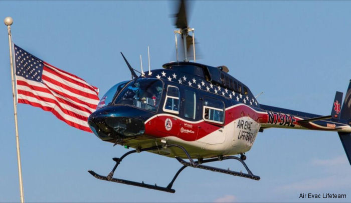 "Air Evac Lifeteam's Safety Management System awarded designation of ""Active Conformance"", the granted highest status a SMS can achieve by the Federal Aviation Administration (FAA)"