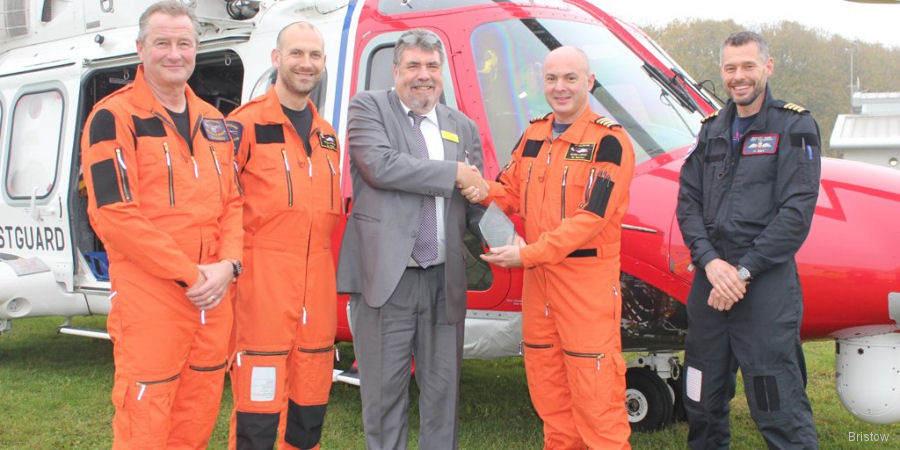 Bristow Search and Rescue Team Honoured at Awards Ceremony