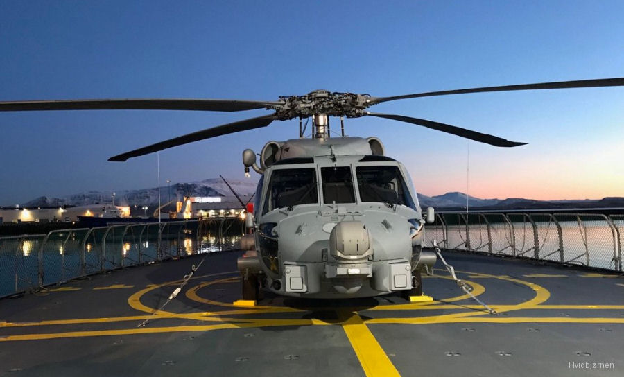 Denmark retires the Westland Lynx in use since 1980 with a last flight at Karup and starts first deployment of MH-60R Seahawk aboard a Thetis class frigate to the Faroe Islands and Greenland