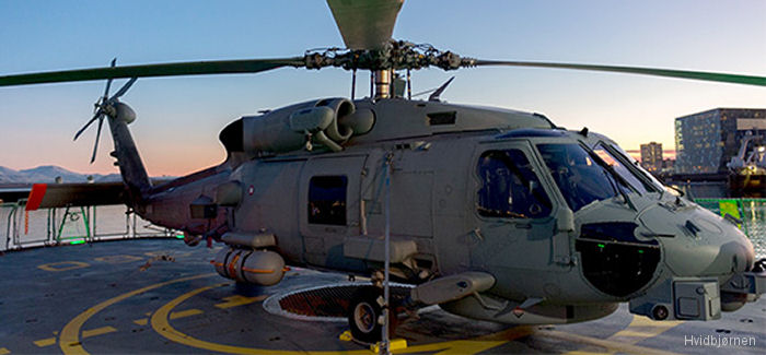 Danish Retires Lynx. MH-60R First Deployment