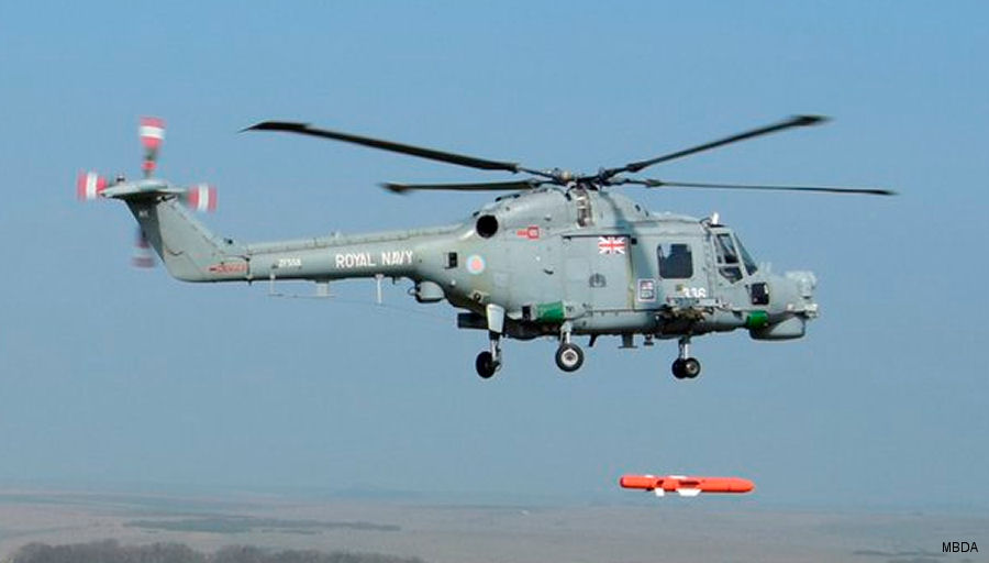 MBDA Proves Sea Venom/ANL Missile Compatibility with Lynx and Super Lynx Helicopters