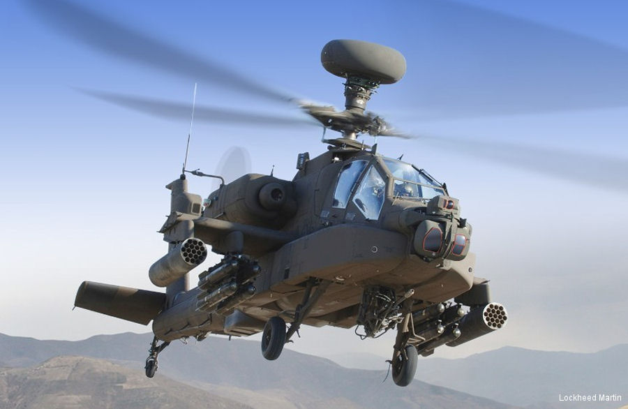 Lockheed Martin received $337M for first batch of AH-64E Apache'  Modernized Target Acquisition Designation Sight/Pilot Night Vision Sensor (M‑TADS/PNVS) systems for the US Army, UK and Saudi Arabia