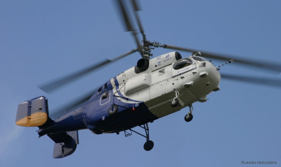 Contracts includes 5 Ansat, 3 Mi-171 and 2 Ka-32 (photo)