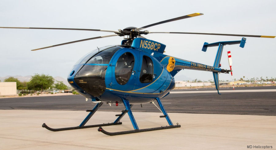 Ohio's Columbus Police to upgrade its 2 remaining MD500E helicopters. 