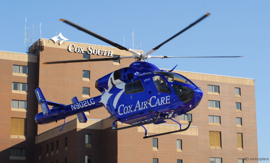 CoxHealth will become the first EMS/air medical MD 902 operator to field Genesys Aerosystems <a href=/database/news/md902_deck/>glass cockpit</a> and will also feature new, upgraded United Rotorcraft/Air Methods EMS interior