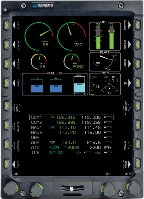 MD Helicopters selects Genesys Aerosystems' new-generation Integrated Display Units IDU-680 as standard aboard the MD902 Explorer from Q3 2017