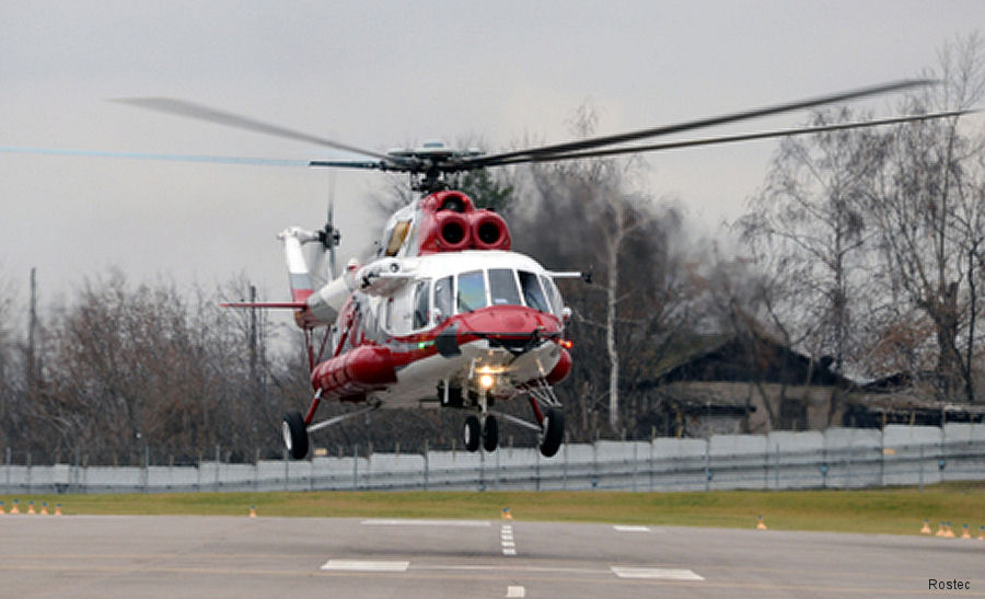 Russian Helicopters obtained a type certificate for the Mi-171A2 helicopter in a convertible configuration from the Federal Air Transport Agency of the Russian Federation (Rosaviatsia)