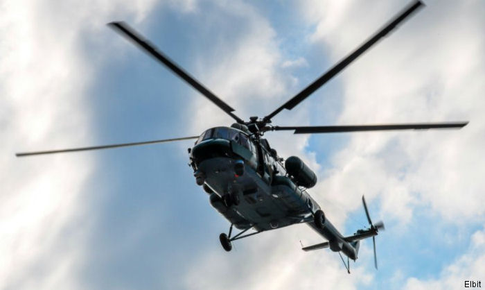Israel's Elbit Systems awarded $110 million contract from an Asia-Pacific country for the upgrade and maintenance of dozens of  Mi-17 helicopters over a five-year period