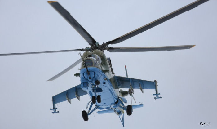 Poland's WZL-1, part of PGZ, completes overhaul of Senegal Air Force's Mi-24 Hind helicopter