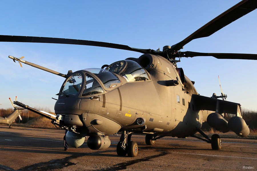 Russia announced delivery of 2 multirole attack helicopters Mi-35M to Mali to fight terrorism