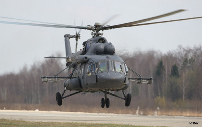 Russia delivering the final lot of 12 Mi-8MTV-5 to Belarus next April ahead of schedule.