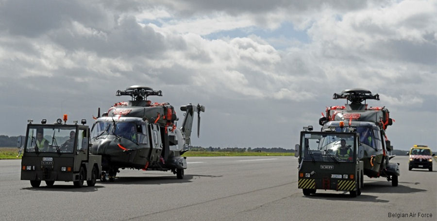 Belgian NH90 First Deployment to Africa