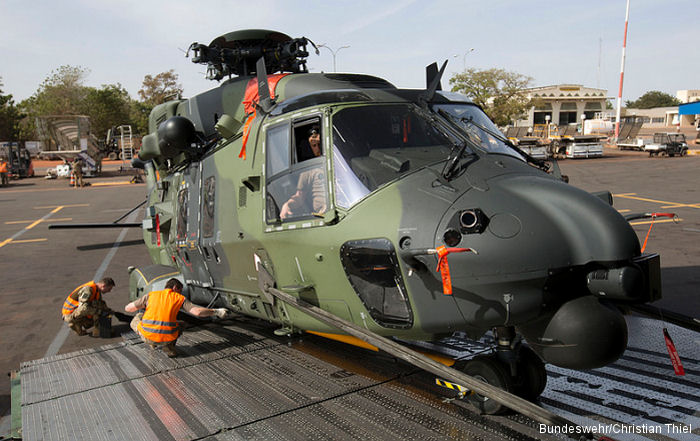 NH90 On their Way to Gao