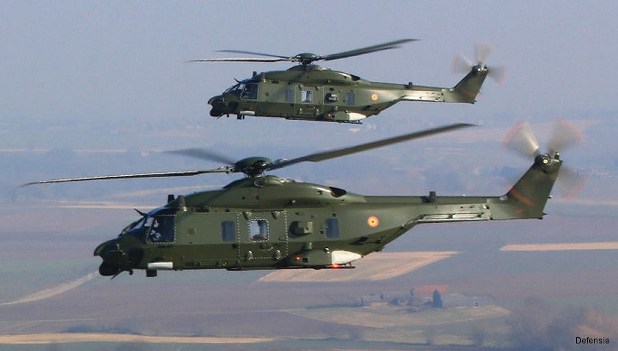 Belgium Could Send NH90 to Mali