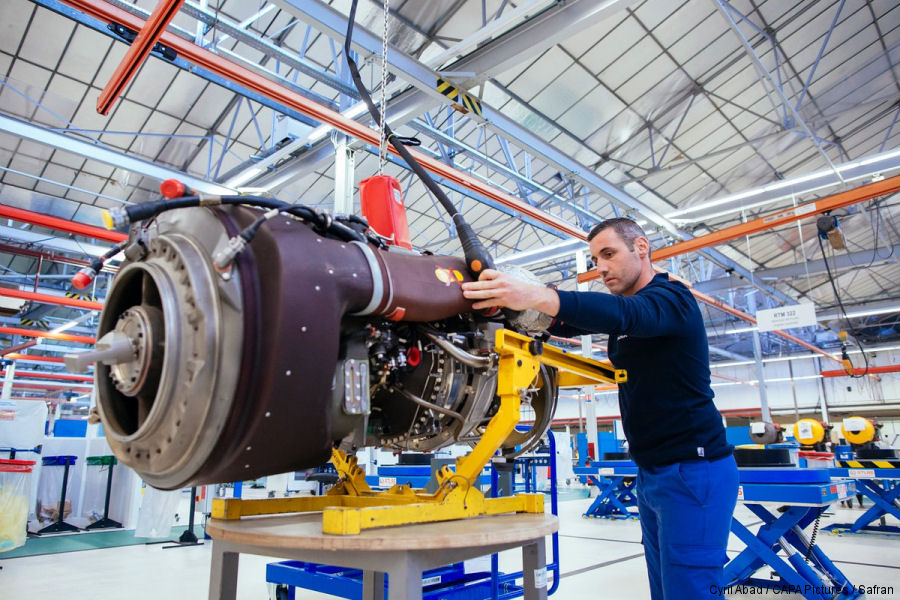 Safran signs contract to support German NH90 engines