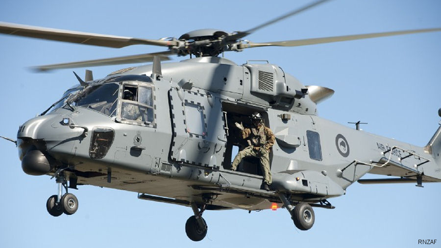 NH90 flying limitations eased