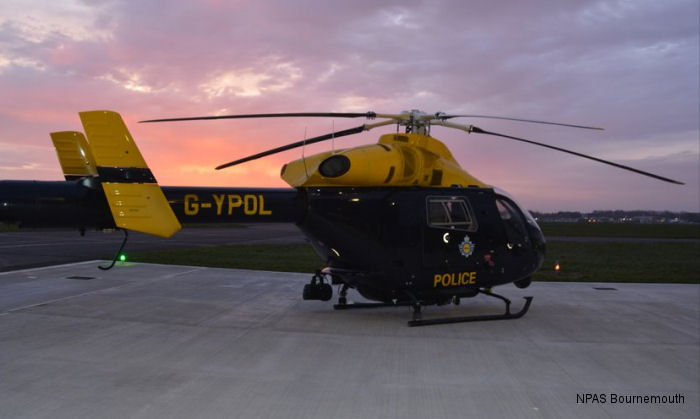 UK National Police Air Service (NPAS) retiring last MD902 Explorer. Six helicopters were received from the local police forces when NPAS formed back in 2013 and now replaced with EC135/145