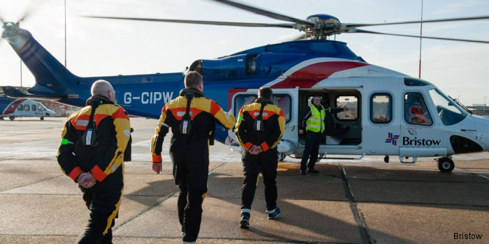 For second consecutive year, Bristow ranked first in helicopter services in the oilfield services segment of EnergyPoint Research's 2016 Oilfield Products & Services Customer Satisfaction Survey