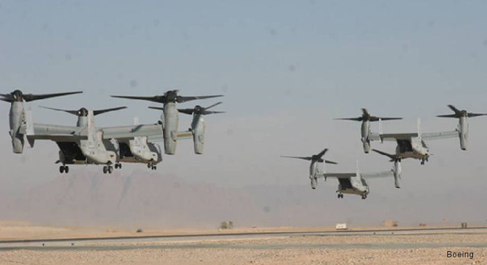 Bell/Boeing Rolls Out 350th Osprey